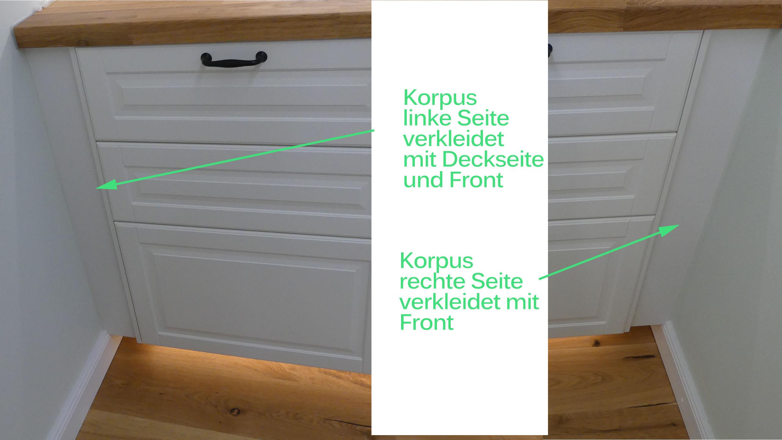 Aufbau der Möbel – Ikea Kitchen